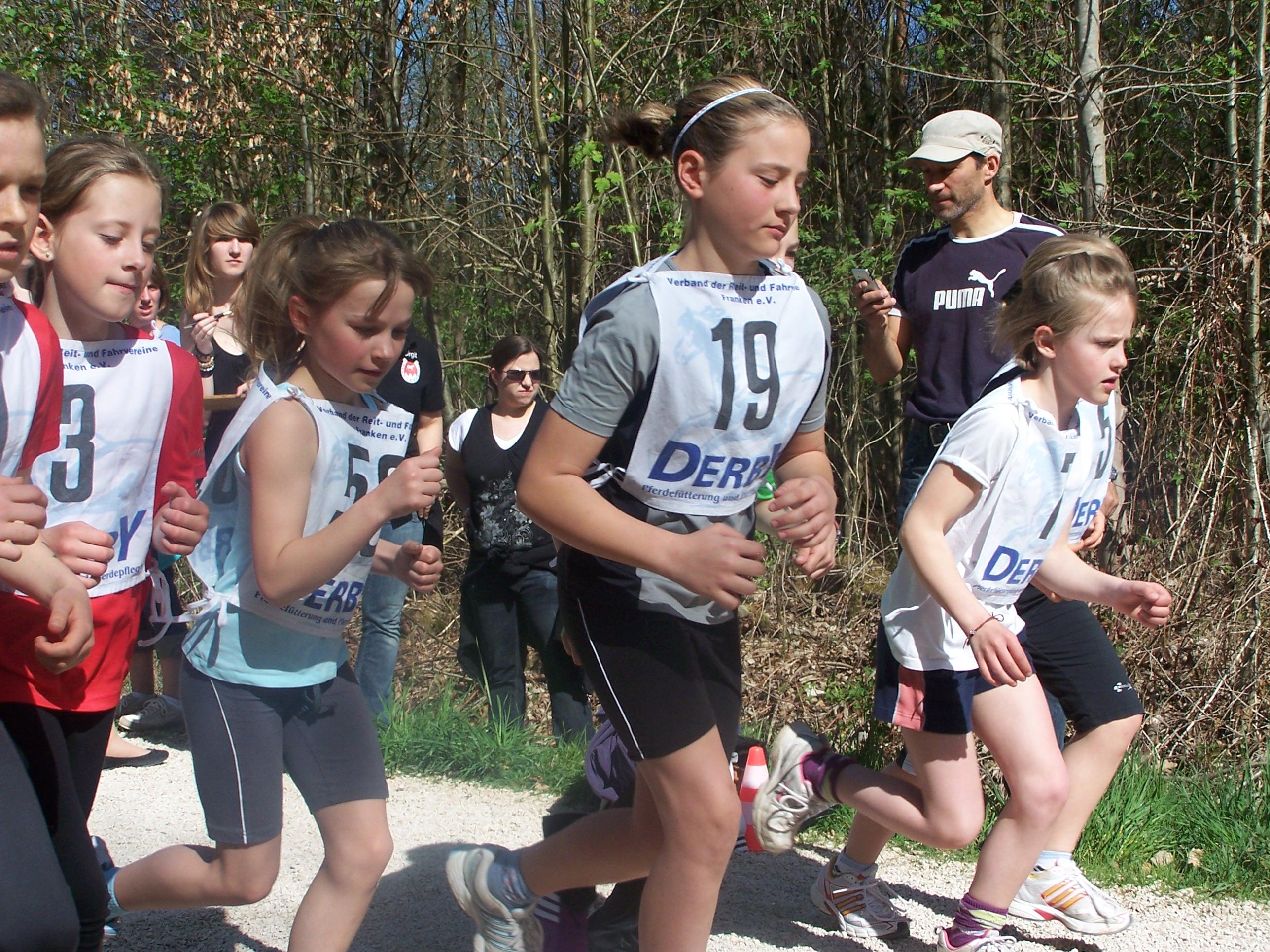1. Disziplin Laufen